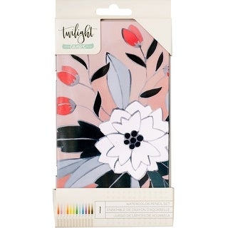 One Canoe Two Twilight Watercolor Pencils W/Tin 12/Pkg-