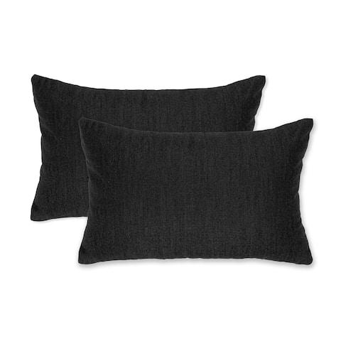 "13"" x 19 Rectangle Outdoor/Indoor zippered Pillow, (set of 2) By Austin Horn Classics"