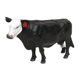 "Little Buster Toy Cow Heavy Duty Plastic Black 4"" x 6"" Black 500249"