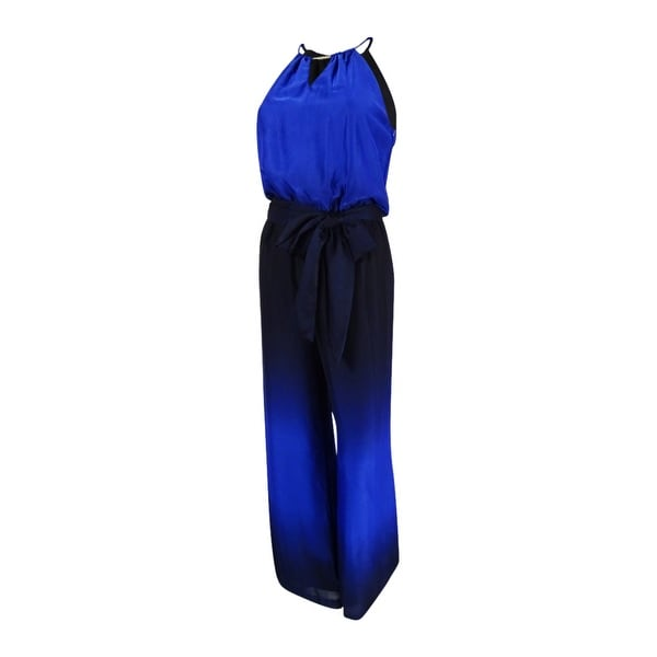 71d67816d3f Shop Tahari ASL Women s Keyhole Halter Jumpsuit - On Sale - Free Shipping  Today - Overstock - 18299194