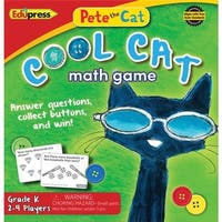 Teacher Created Resources  Pete the Cat Cool Cat Math Game G-k Book