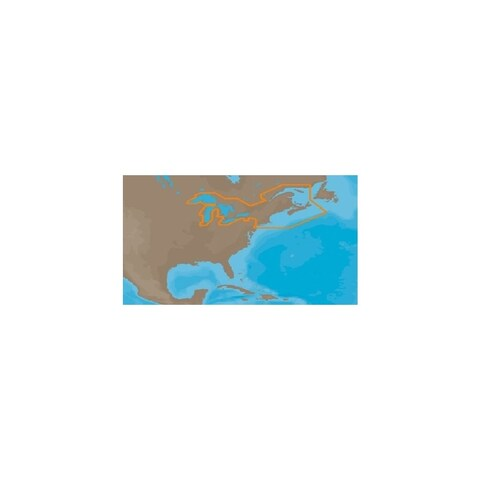 C-MAP 30127M C map max great lakes and the maritimes c card + $150