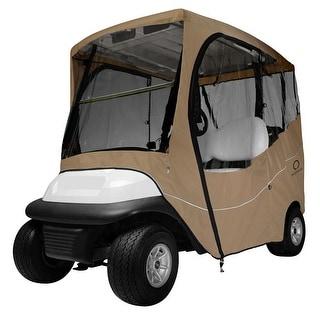 Fairway Travel Golf Cart Short Roof Enclosure - Khaki - 40-045-335801-00