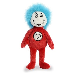 "Dr. Seuss - Thing 2 12"" Plush Toy - multi"
