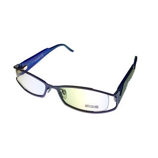 Just Cavalli Womens Opthalmic Frame Modified Blue Rectangle Metal JC229 80 - Medium