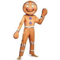 Disguise Gingy Deluxe Adult Costume - Brown