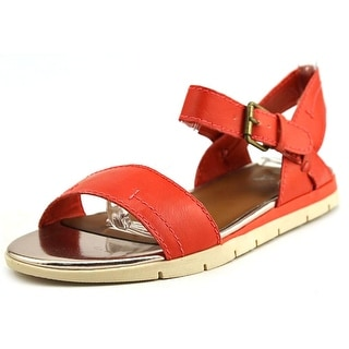 Mia Backhand Open Toe Synthetic Sandals