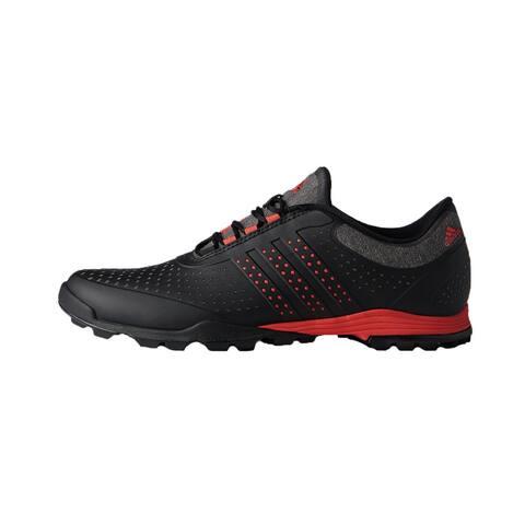 New Adidas Women's Adipure Sport Core Black/Real Coral/Core Black Golf Shoes DA9136