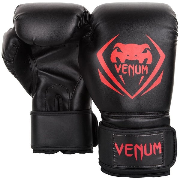Venum Contender Boxing Gloves Black//Red