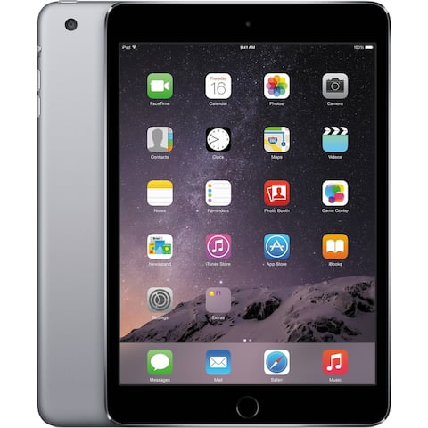 "Apple MH3L2LLA 128GB Apple A7 X2 1.3GHz 7.9"" Touch AT&T,Gray(Certified Refurbished)"