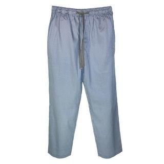 Robert Graham Men's Cotton Sateen Acireale Sleep Pants - Blue