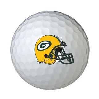 Wilson NFL Green Bay Packers Golf Balls Team Logo Wilson Ultra 500, 6 Pack
