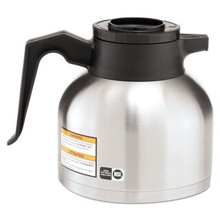 Bunn-O-Matic 1.9 ltr. Thermal Carafe, Stainless Steel & Black