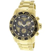 Invicta Men's Pro Diver  Gold Stainless-Steel Diving Watch
