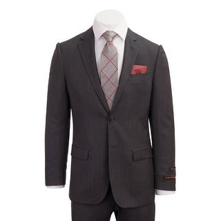 Novello Suit - Dark Gray Birdseye, Modern Fit
