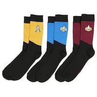 Star Trek The Next Generation Uniform Adult Crew Socks