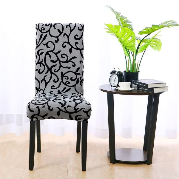 Awe Inspiring Shop Stretch Spandex Short Seat Slipcover Dining Chair Cover Uwap Interior Chair Design Uwaporg