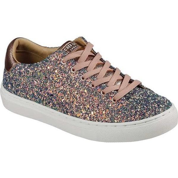 202f275b100 Shop Skechers Women s Side Street Awesome Sauce Sneaker Gold Multi ...