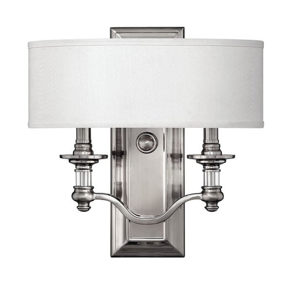 Hinkley Lighting H4900 2 Light ADA Compliant Indoor Double Sconce Wall Sconce from the Sussex Collection