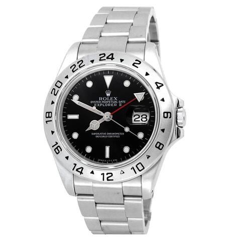 Pre-owned 40mm Rolex Explorer II Watch