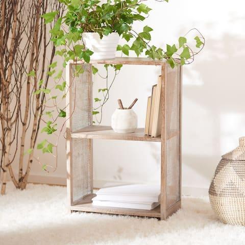 "Safavieh Phoenix 2-Shelf Etagere Bookcase - 11.6"" W x 19.7"" L x 31.9"" H"