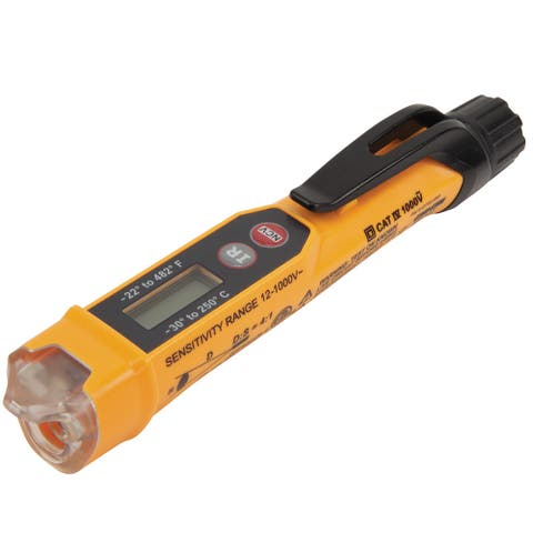 Klein tools non contact voltage tester w/ infrared ncvt-4ir