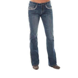 Cowgirl Tuff Western Denim Jeans Womens Show It Off ll Med