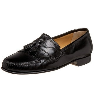 Johnston & Murphy Mens Breeland Leather Round Toe Slip On Shoes - 10