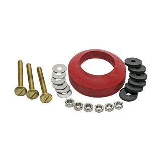"""Fluidmaster 6106  2-3/4"""" Toilet Bowl Bolts Set of 3 with Nuts and Washers"""
