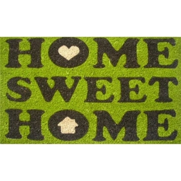 "Home & More 12014 17"" Home Sweet Home Floor Mat - 100 percent Coir and Vinyl"