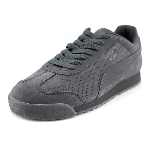 Puma Roma Mono Translucent Men Round Toe Synthetic Gray Sneakers
