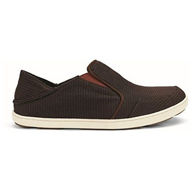 Olukai Mens Nohea Mesh Slip-On, Dark Java/Rojo, 8.5