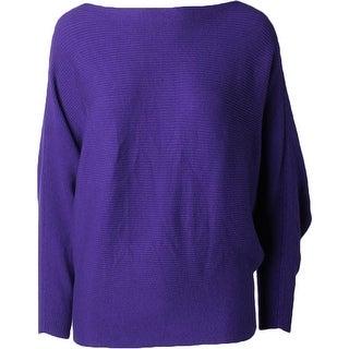 Lauren Ralph Lauren Womens Pullover Sweater Ribbed Knit