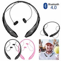 Bluetooth Wireless Headset Stereo Headphone Earphone Sport Handfree Universal,color Black