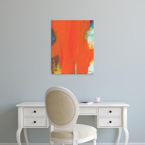 Easy Art Prints Jan Weiss's 'Orange Tide' Premium Canvas Art