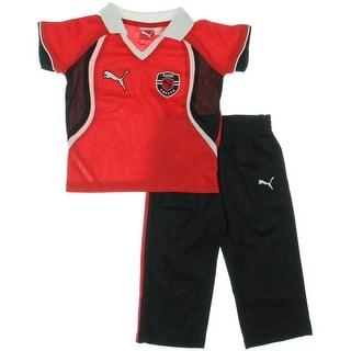 Puma Pant Outfit Colorblock Boys