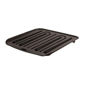"Rubbermaid 1180-MA-BLA Dish Drainer Tray, Plasic, Black, 14-1/4"" x 15-1/2"""