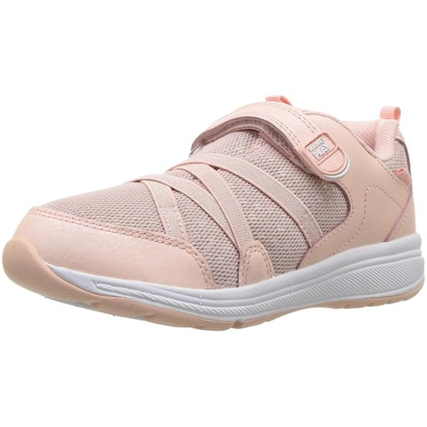 Kids Stride Rite Girls Emmy Leather Low Top Walking Shoes