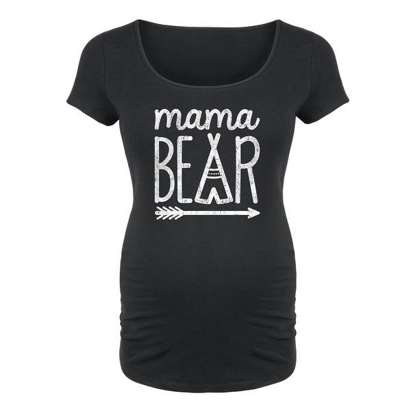 Shop Mama Bear Maternity Scoop Neck Tee On Sale Free