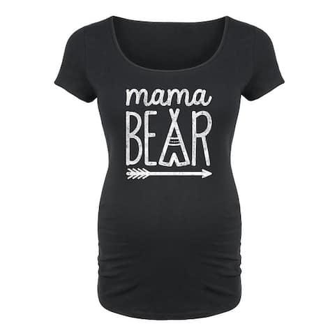 Mama Bear - Maternity Scoop Neck Tee