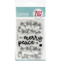 "Avery Elle Clear Stamp Set 4""X6""-Peaceful Pines"
