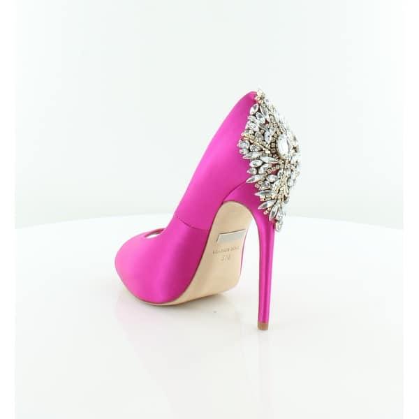 05afcbf6812 Shop Badgley Mischka Kiara Women's Heels Carmine Pink - 5 - Free ...