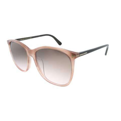 Tom Ford TF 485D 74F Mens Pink Frame Pink Gradient Lens Sunglasses