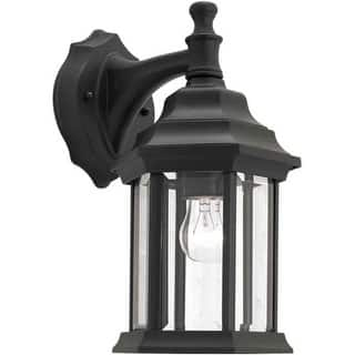 Antique outdoor lighting for less overstock forte lighting 1715 01 outdoor wall sconce from the exterior lighting collection 3 options aloadofball Choice Image