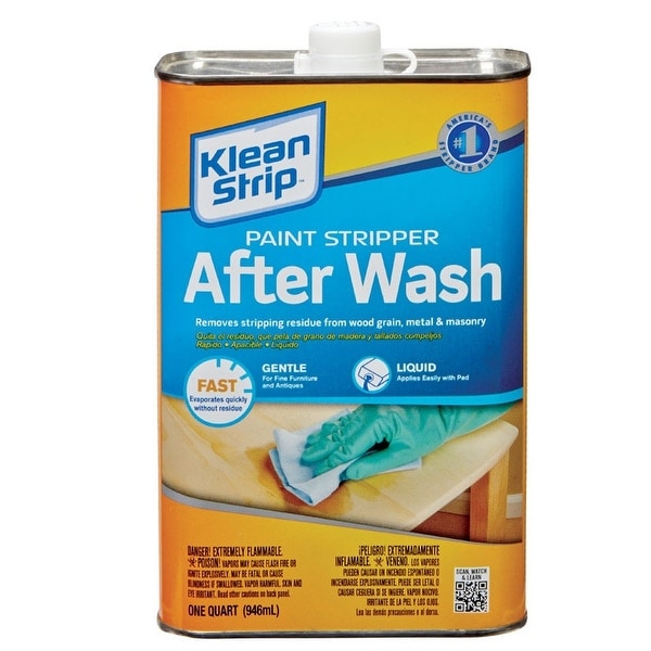 Shop Klen Strip QKSW Paint Stripper After Wash 32 Oz Clear