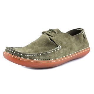 Casbia Bruce   Round Toe Suede  Loafer