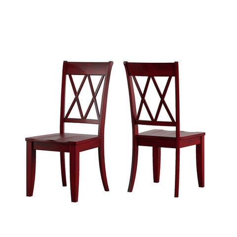 Eleanor Two-Tone Solid Wood 5-Piece Dining Set by iNSPIRE Q Classic