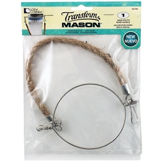 Transform Mason Rope Handle 1/Pkg-Wide Mouth