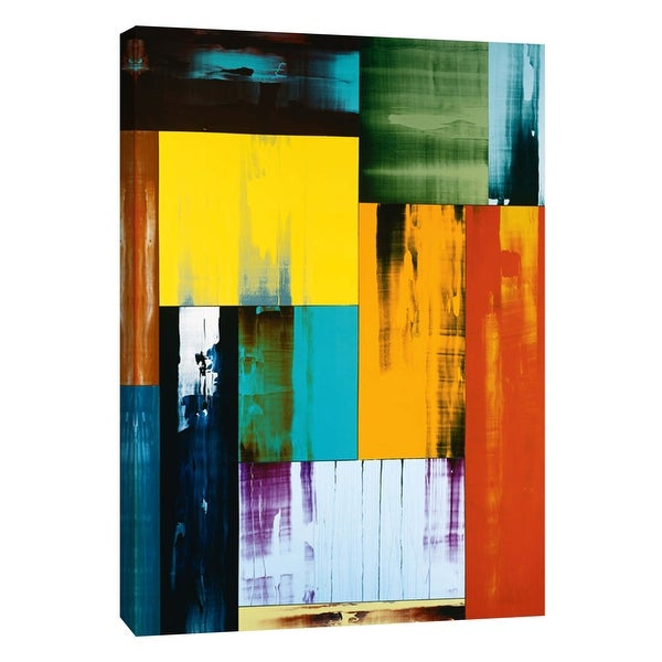 """PTM Images 9-108929 PTM Canvas Collection 10"""" x 8"""" - """"Vitality"""" Giclee Abstract Art Print on Canvas"""
