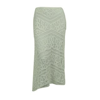 INC International Concepts Women's Lace Design Cotton Skirt - 20W